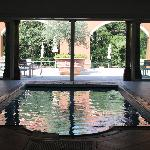 The indoor swimming pool - decadent