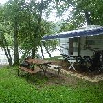 Photo de French Broad River Campground