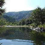 The natural pool - beats a swimming pool
