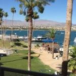 view of Lake Havasu from our room