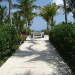 The neverending walkway to the beach. My favorite spot
