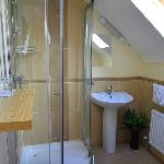 Ensuites with power showers and natual light.