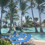 Preciosa la piscina