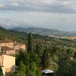 View from terrace Il Ginepro
