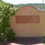 Side entrance to village