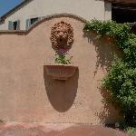 Garden / side entrance to village