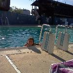 At there pool