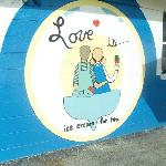 Love Boat Homemade ice Cream