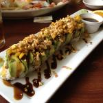 one of the massive maki rolls