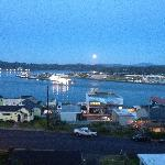 Moonlight view from Lightkeeper's Inn
