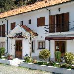 Fachada principal do Hotel Beleza da Serra**