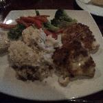 Cheese & Bacon crusted Haddock with Garlic mashed potatoes
