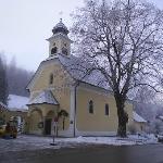 Tiny church in Hinterstoder village