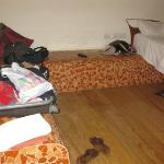unser nichtaufgeräumtes Zimmer