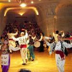 Uranos Sarikaya dinner show, Urgup Turkey