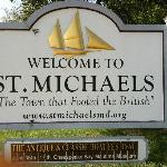 St Michaels...Welcome Sign.