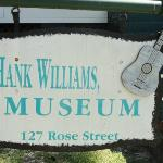 sign in front of museum