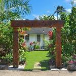 Fern Grotto Inn Entrance
