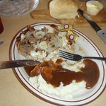 Smothered Chicken Plate