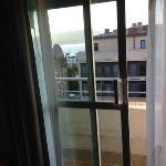 balcón de la habitación 603.