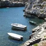 A hidden bay in Gozo