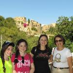 Amy (on the right) with my family
