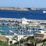 The harbour of Mgarr (Gozo)