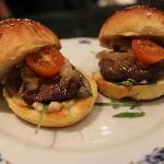 La Abadia's take on a burger, just delicious!