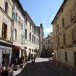 Beautiful streets of Uzes