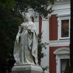 Queen Victoria in the Parliament grounds