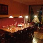 community table - a true must for any reputable trattoria!