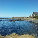 The Tides Inn from the beach