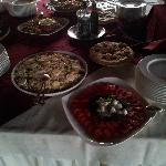 Büffet Abendessen