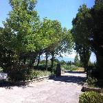 Entrance to Flavia Constans