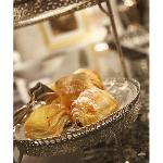Residente enjoy our complimentary tea & pastry offering in the lounge
