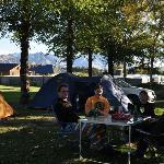 Camping at Hanmer