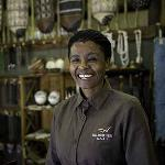 Savuti Camp Staff In Curio Shop