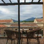 Le balcon donnand sur les Pyrenées