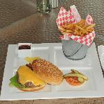 Great juicy burger