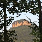 Nearby Pilot Knob which gives the Inn its Name