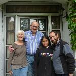 Josephine, Joe, my husband and daughter
