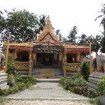 temple du moine momifié