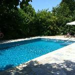 El rincón escondido de la piscina