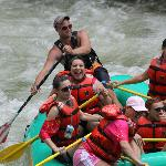 we came to ride the river in a raft and did it