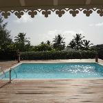 Pool villa vue mer