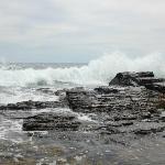 Breathtaking Atlantic ocean up close and personal