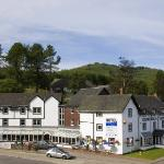 Crianlarich surrounded by stunning landscapes
