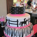 Horse Themed Sweet Sixteen Cake