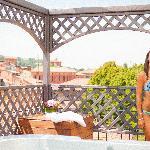 Un bagno in jacuzzi in hotel a Bologna