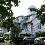 Oak Bluffs Inn, vue de Pequot Ave